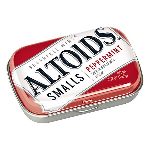 Altoids Peppermint Smalls Sugar Free 10.5 g