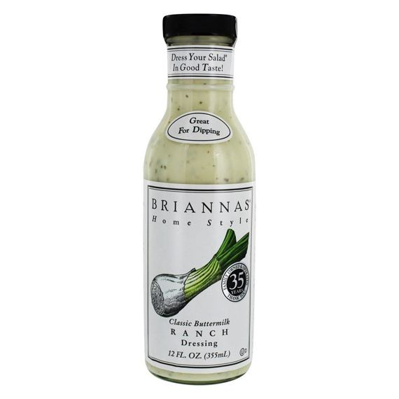 Briannas Classic Buttermilk Ranch Dressing 355 ml
