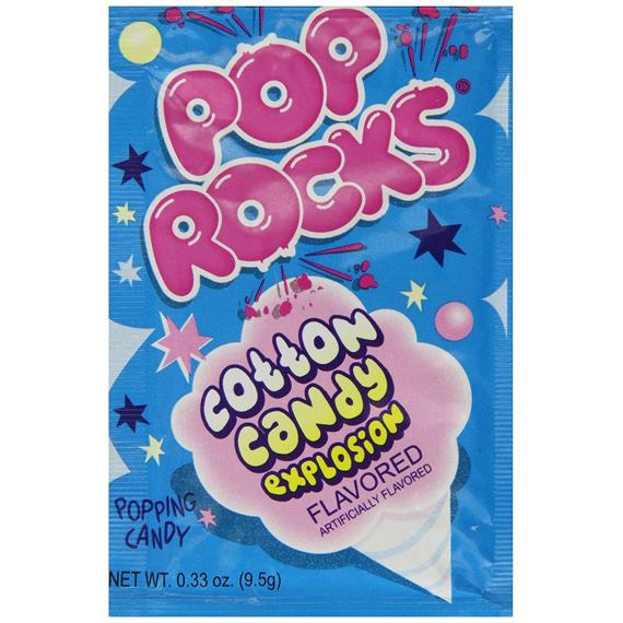 Pop Rocks Cotton Candy 9.5 g
