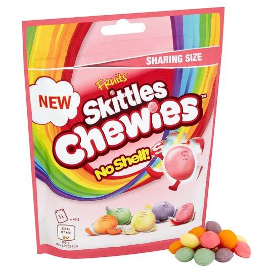Skittles Fruits Chewies Bag 196 g