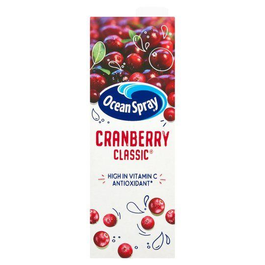 Ocean Spray Cranberry Classic Juice Drink 1 l