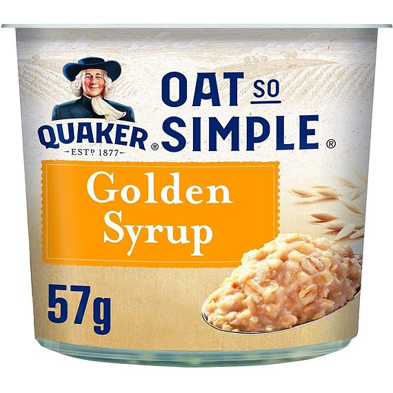 Quaker Oat So Simple Golden Syrup 57 g