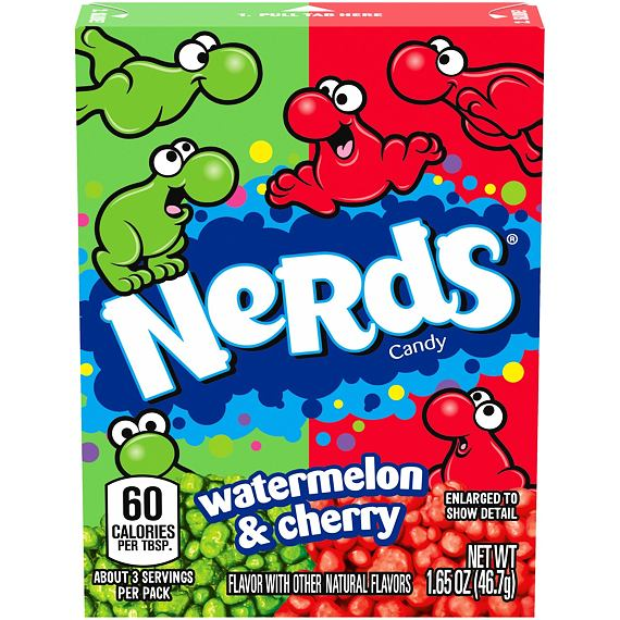 Nerds Watermelon & Cherry 46.7 g