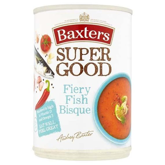 Baxters Super Good Fiery Fish Bisque Soup 400 g