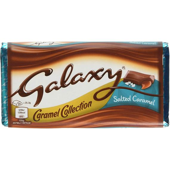 Galaxy Salted Caramel 135 g