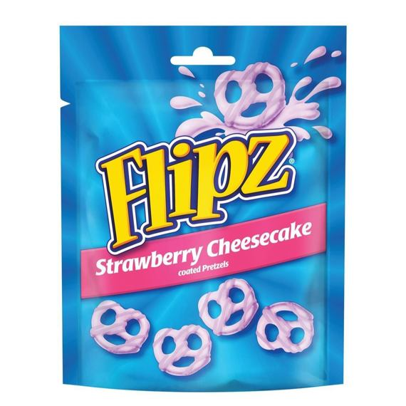 Flipz Strawberry Cheesecake 90 g 6 ks Celé Balení