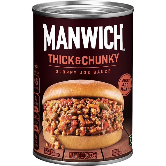 Manwich Thick & Chunky Sauce 439 g