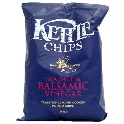 Kettle Sea Salt & Balsamic Vinegar 150 g
