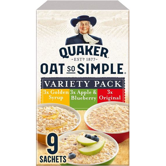Quaker Oat So Simple Variety 9 ks 297 g