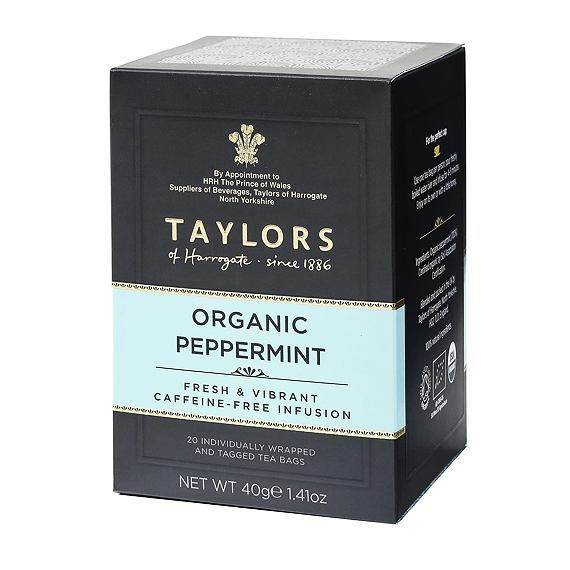 Taylors of Harrogate Organic Peppermint 20 ks 40 g