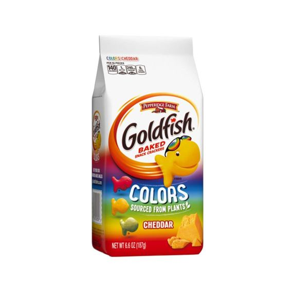 Goldfish Colors Cheddar 187 g
