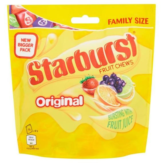 Starburst Fruit Chews Original 210 g