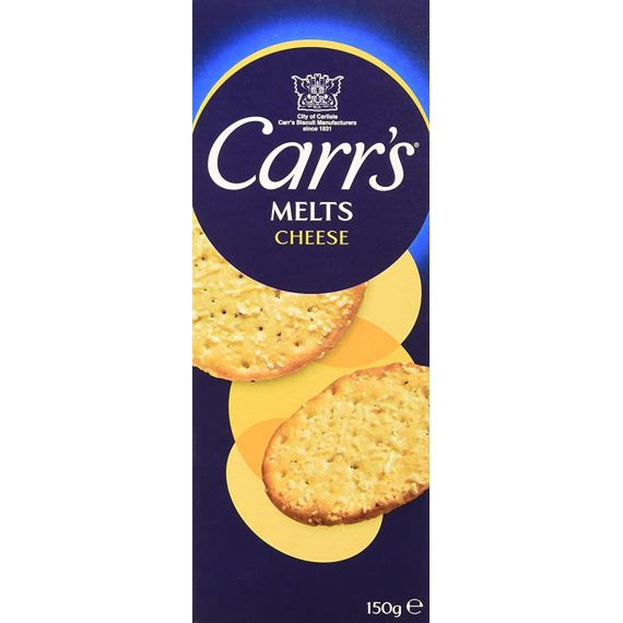 Carr's Melts Cheese 150 g