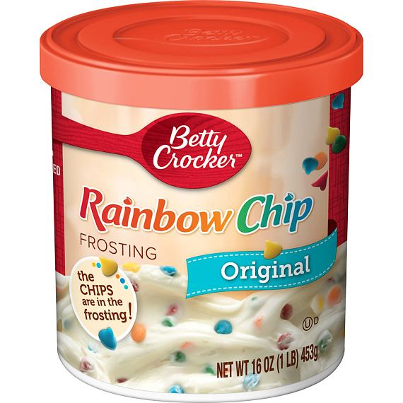 Betty Crocker Rainbow Chip Original Frosting 453 g