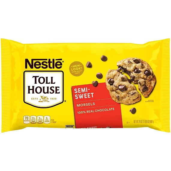 Nestlé Toll House Semi-Sweet Morsels 680 g