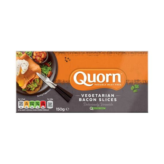 Quorn Vegetarian Bacon Slices 150 g