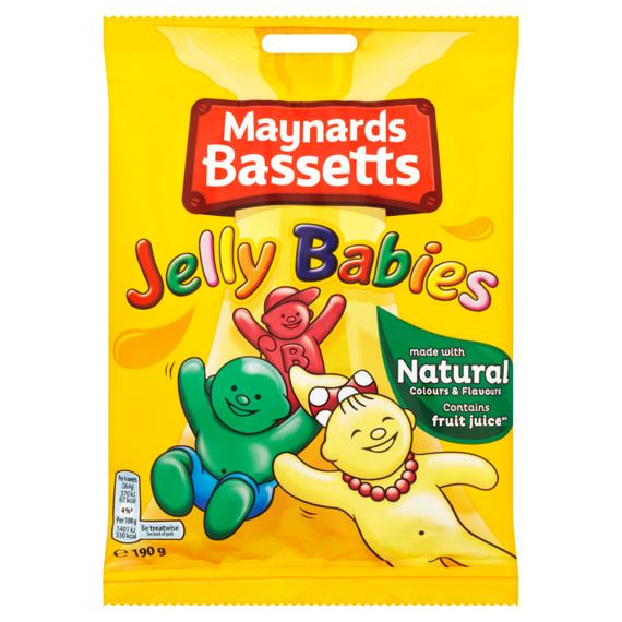 Maynards Bassetts Jelly Babies 190 g