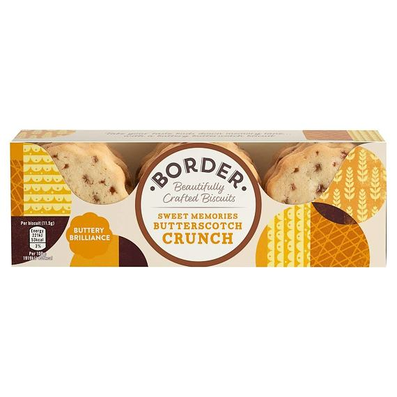Border Butterscotch Crunch 135 g