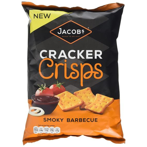 Jacob's Cracker Crisps Smoky Barbecue 150 g
