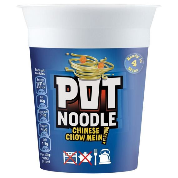 Pot Noodle Chinese Chow Mein 90 g