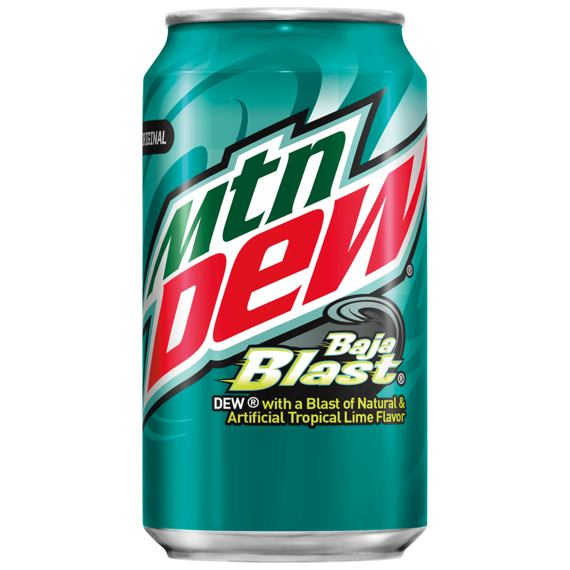 Mountain Dew Baja Blast 355 ml