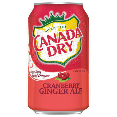 Canada Dry Ginger Ale Cranberry 355 ml