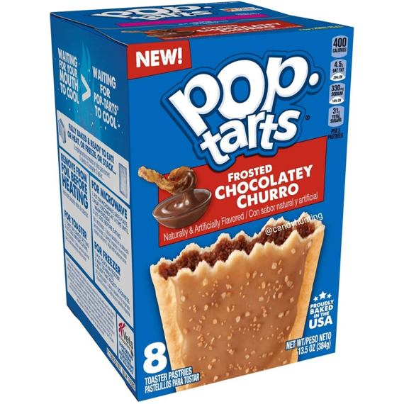 Pop-Tarts Frosted Chocolatey Churro 384 g