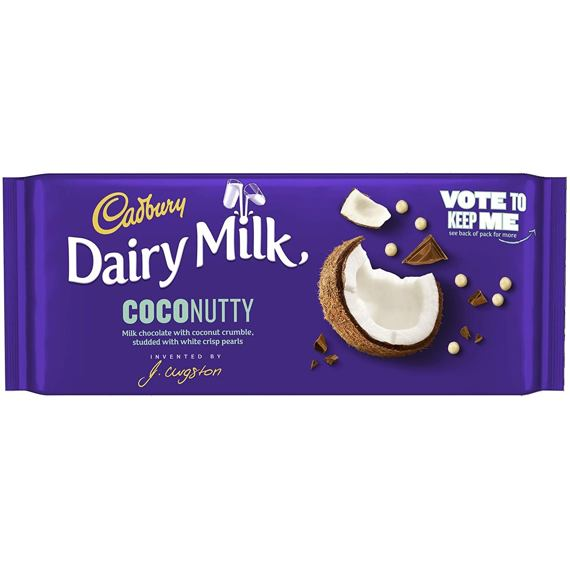 Cadbury Dairy Milk Coconutty 105 g