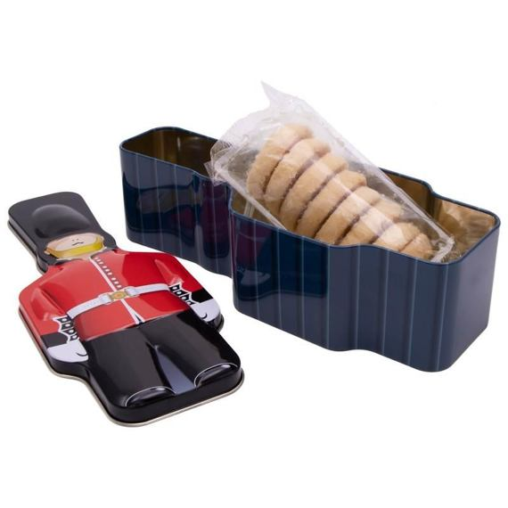 Queen's Guard Money Box Shortbread Biscuits 100 g