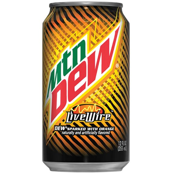 Mountain Dew LiveWire Orange 355 ml