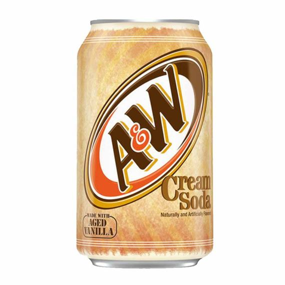 A&W Cream Soda 355 ml