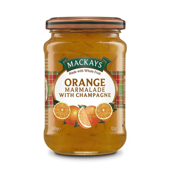 Mackays Orange Marmalade With Champagne 340 g