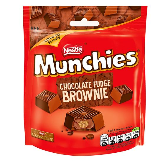 Munchies Chocolate Fudge Brownie 101 g