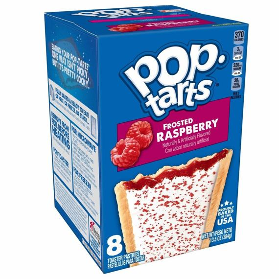 Pop-Tarts Frosted Raspberry 384 g