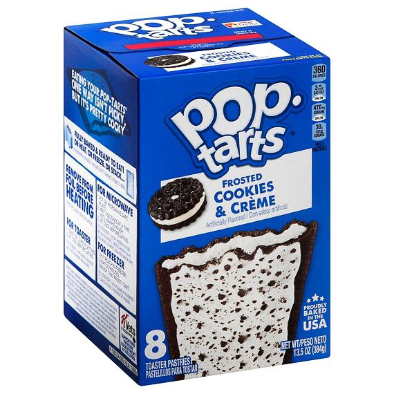 Pop-Tarts Frosted Cookies & Cream 384 g